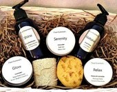 Bath and Body Gift Basket, Lavender scented