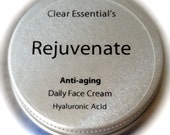 Anti aging deep hydrating facial moisturizer, facial cream with Hyaluronic Acid