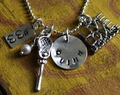 Lacrosse Mom Sterling Silver Necklace LAX Player Girlfriend