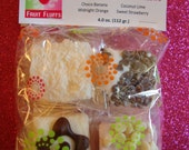 Marshmallows Fruit Flavored -  Assorted bag of 8 Fruit Fluffs