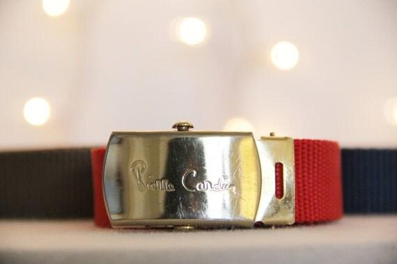Vintage Pierre Cardin Interchangeable Belt -RESERVED