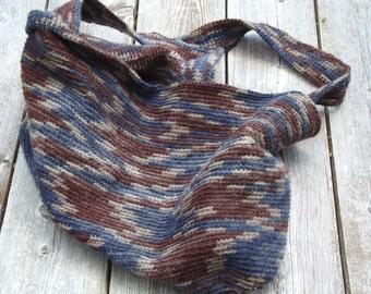 Handmade Crochet Farmers' Market Bag - Extra Large