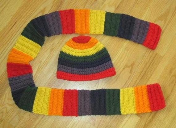 Handmade Crochet Scarf and Beanie Sets