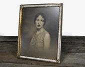 Vintage Photograph of Flapper Framed