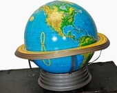 16 inch Detailed Physical-Political Table Top Vintage Globe