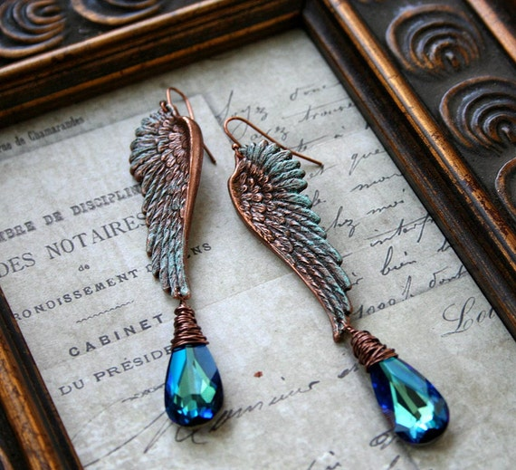 Angel Wing Necklace With Name