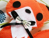 Fox plushie