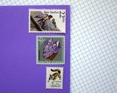 Vintage un-used - Plants, Animals, and Minerals - postage stamps to post 5 letters
