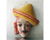 1940s Mexican Man String Dispenser