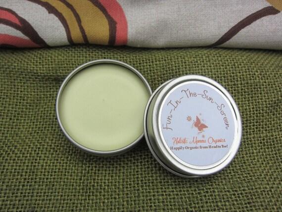Holistic Momma Organics Natural Pure Safe Sunscreen Sun Lotion SPF 30 1 ounce