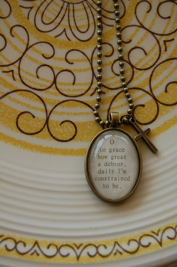 Come Thou Fount Necklace