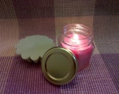 TWO Travel Jar Soy Candles - 1.5 oz - Choose scent