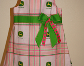 John Deere Fabric A-Line Dress  for Toddler -Size 2