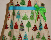 Christmas Tree A-Line Button top,1 size 18 month and 1 size 2 available