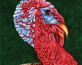 "Who You Callin Turkey ""16x16"" Original Painting"