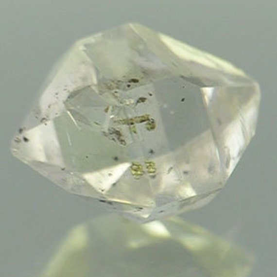 Herkimer Diamond 8.35cts - Museum Quality - Rare Powerful Crystal - Visible Moving Enhydro Bubbles