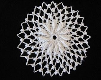 Crochet small doily 5 inches 99 7