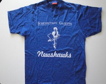 Vintage Schenectady Gazette Tshirt