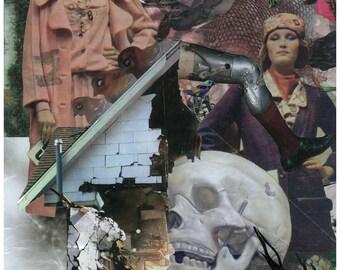 Skull House Print (Number 1 of 20)