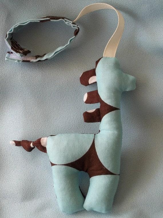 Giraffe Toy Rattle