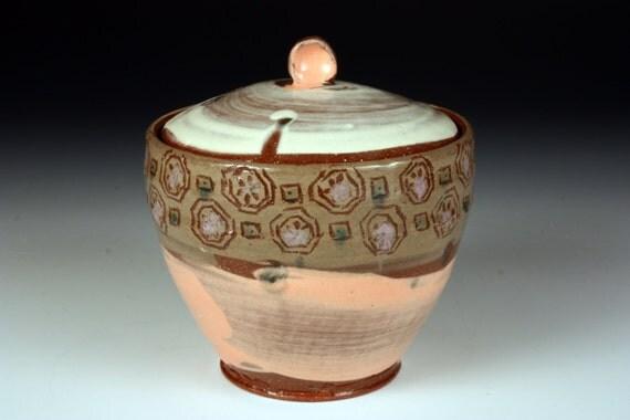 Patterned Ceramic Jar