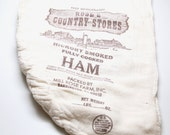 Vintage Country Store Ham Bag