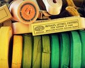 Vintage French Sewing Notions From Paris Flea Market - Fine Art Travel Photography - Home Decor - 8x10 Print