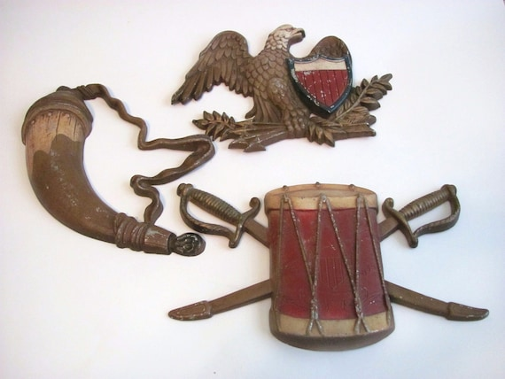 Sexton Colonial Wall Hangings Set of 3