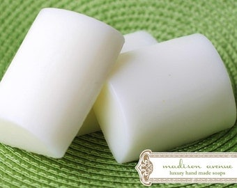 Pure Shea Butter Creamy Pomegranate Spa Quality Bar Handmade Luxurious Soap for sensitive and normal skin