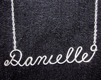 Personalized Handmade Name Necklace
