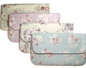Bridesmaids clutch purse set CUSTOM FABRIC