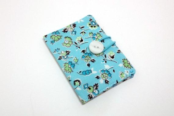 Tea wallet, summer blue