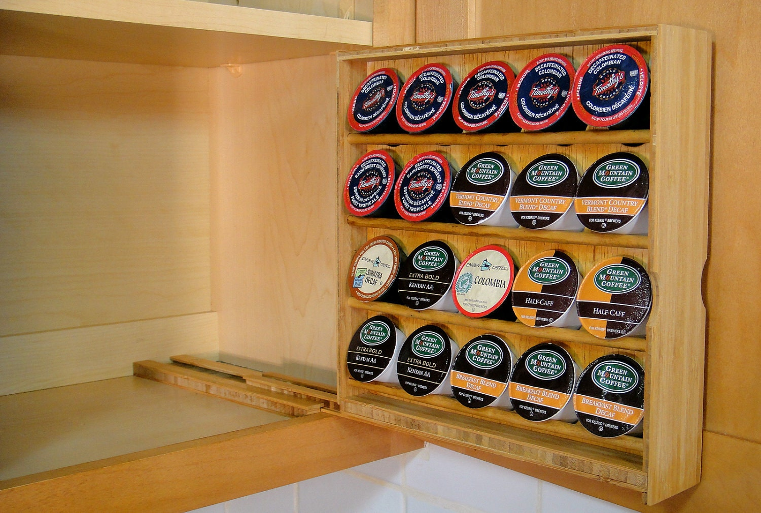 K-Cup Storage For Kitchen Cabinets right hand by donalddavie