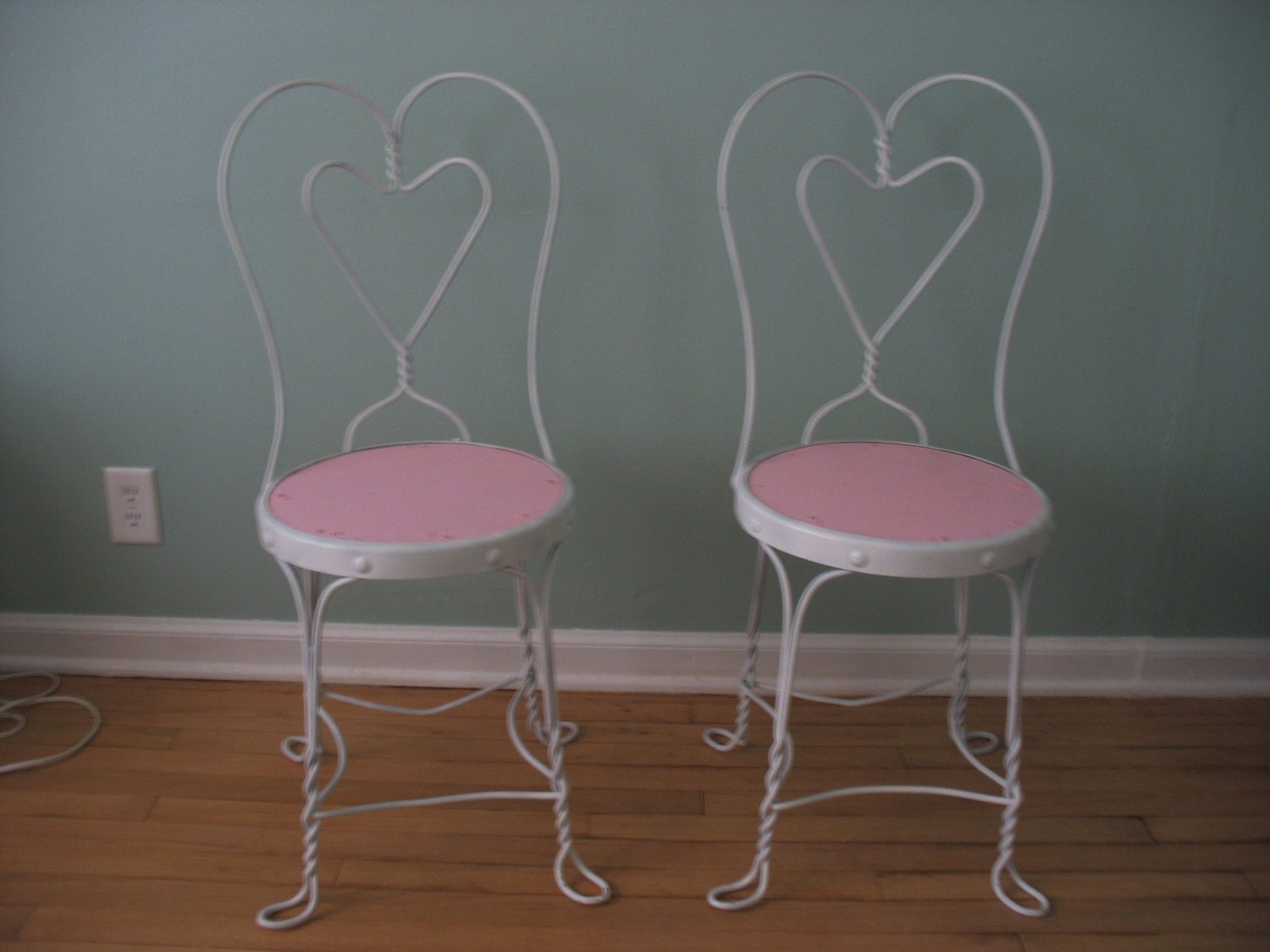 Antique Ice Cream Parlor Chairs