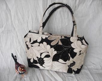 Too Pleat or not Too Pleat Tapestry Handbag
