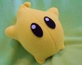 Yellow Luma Plush - Super Mario Galaxy