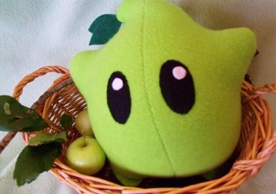 Luma Plush - Green Apple - Super Mario Galaxy