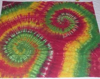 Tie Dye Tapestry 40in x 35in