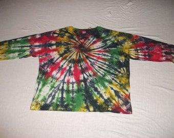 Adult 2XL Long Sleeve Tie Dye