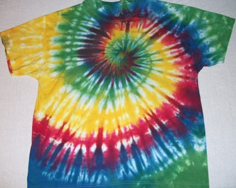 Adult X Large Tie Dye Tee Shirt