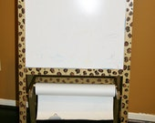 Leopard Print Easel Custom Painted