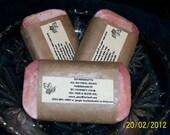 POMEGRANATE SOAP w/ tea tree oil. Organic/Vegan home made CP soap