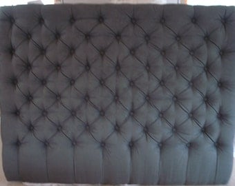 Diamond Tufted Headboard (Queen)