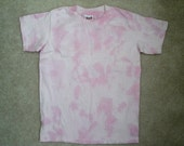 Light pink tie dye Tshirt for cutie girl size S