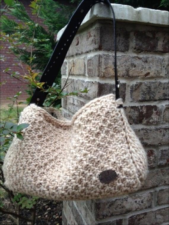 PATTERN:  The Roxie TUNISIAN Crochet Bag Pattern