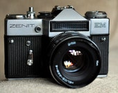 Vintage Zenit EM 35mm SLR Film Camera