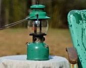 Coleman Lantern Vintage - Enamelware Green