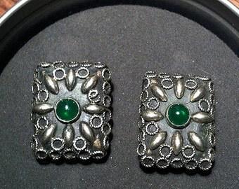 Original Vintage SWANK Baroque Ornate Cufflinks