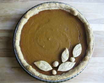 Harvest Moon Pumpkin Pie