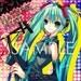 Vocaloid  Hatsune Miku poster 11x17